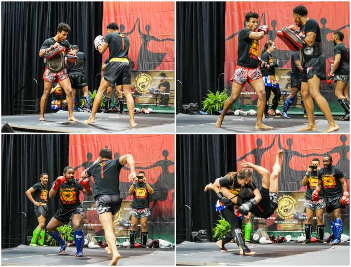 Muay Thai Boxing Demonstration by Nakapan from BETA Academy