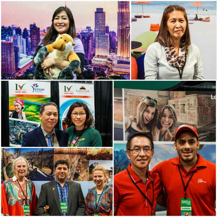 People from Tourism Malaysia, Philippine Department of Tourism, LV Travel, Sultanate of Oman, and Peru