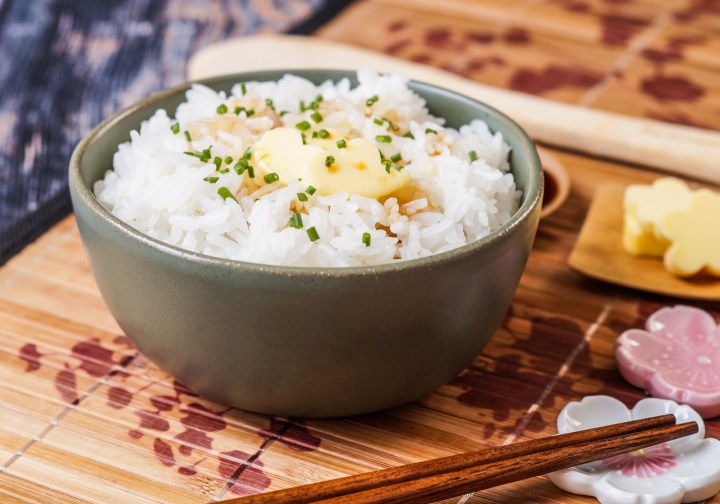 Rice with Butter and Soy Sauce