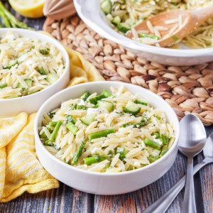 Lemon Orzo Pasta Salad