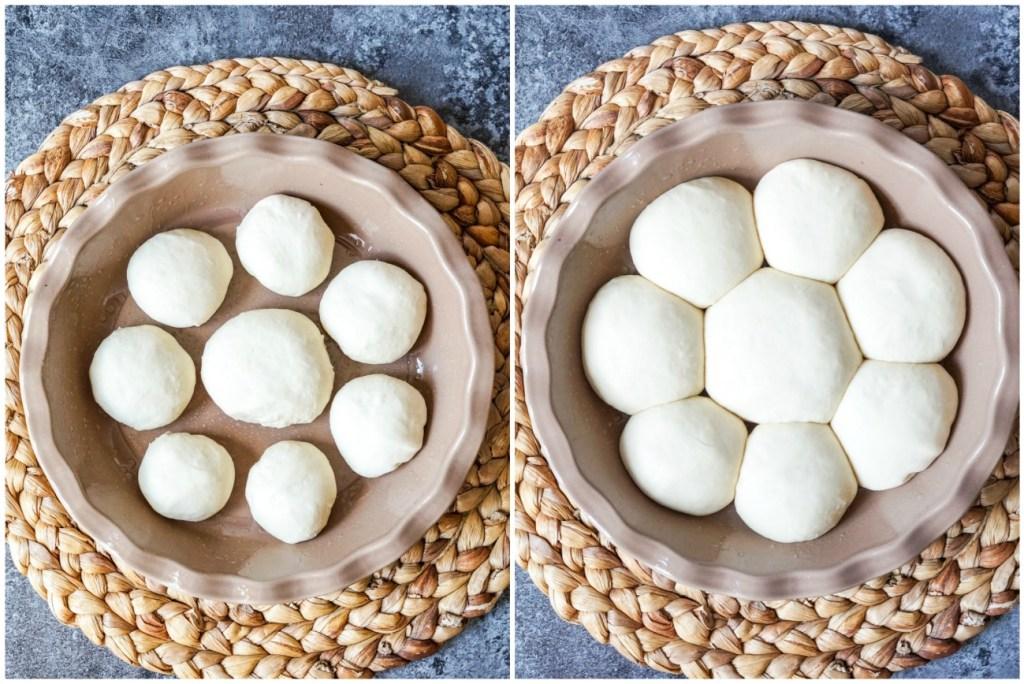 Pampushky (Ukrainian Garlic Bread)