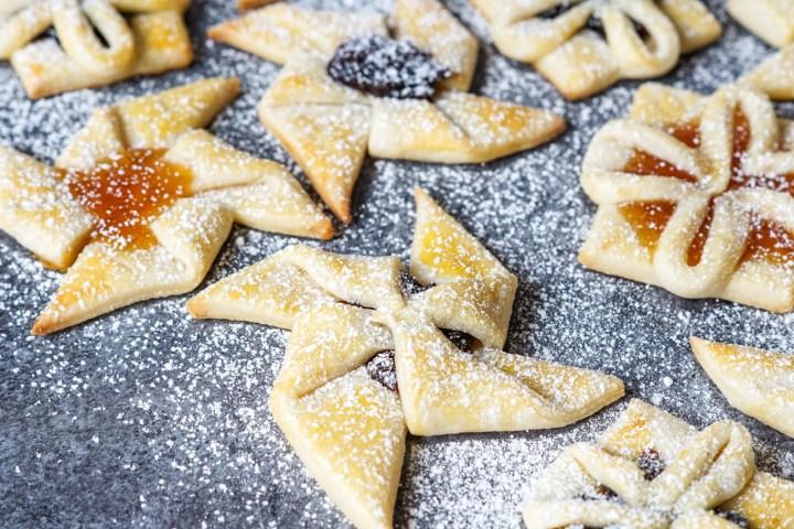 Joulutorttu (Finnish Christmas Tarts) #ChristmasSweetsWeek