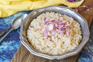 Maftoul bil Sukar (Palestinian Couscous with Sugar and Butter)