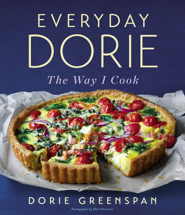 Cookbook cover- Everyday Dorie: The Way I Cook by Dorie Greenspan.