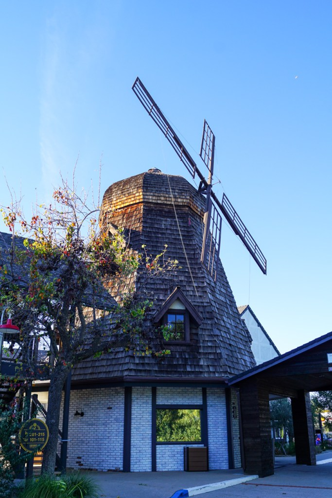 Windmill replica attached to Sideways Inn