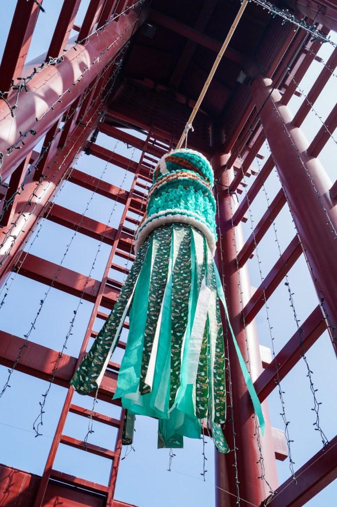 Green lantern in Little Tokyo