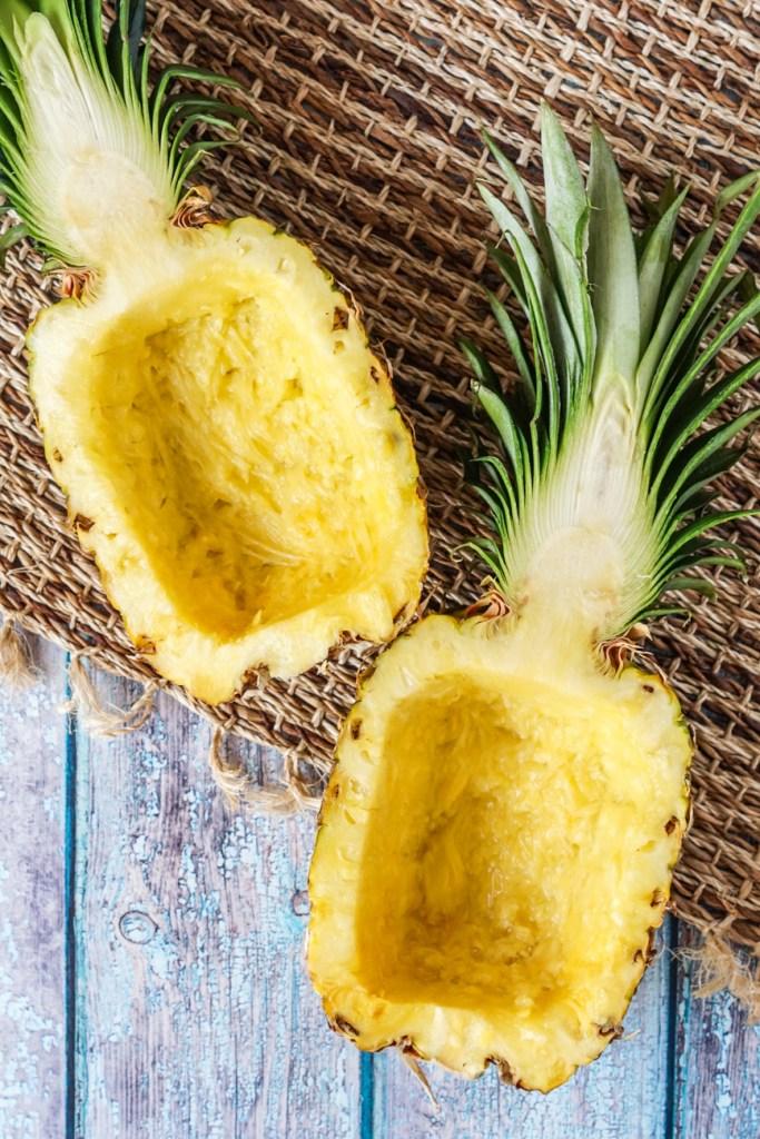 Pineapple boat