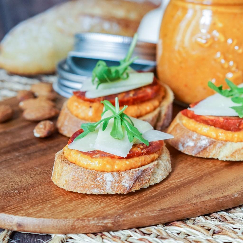 Romesco Sauce Recipe with Chorizo and Manchego