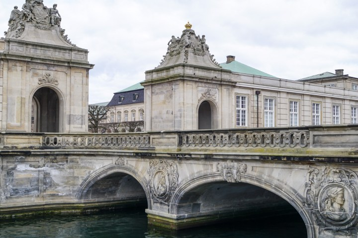 Bridge leading to Christiansborg Slot (Christiansborg Palace)