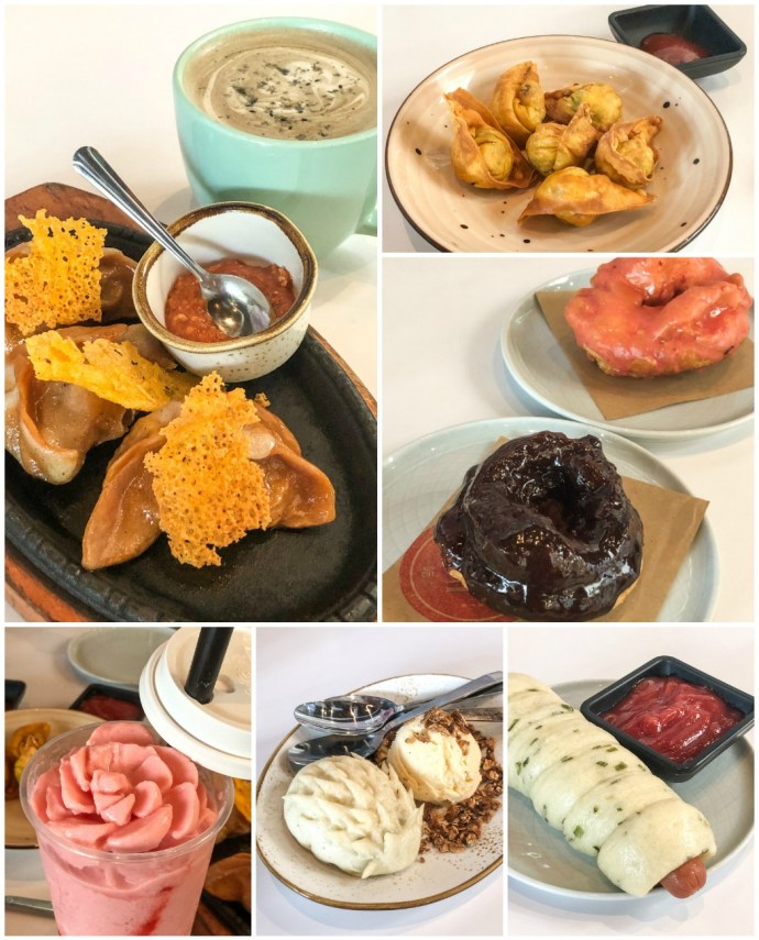 Dishes from Ms Chi Cafe