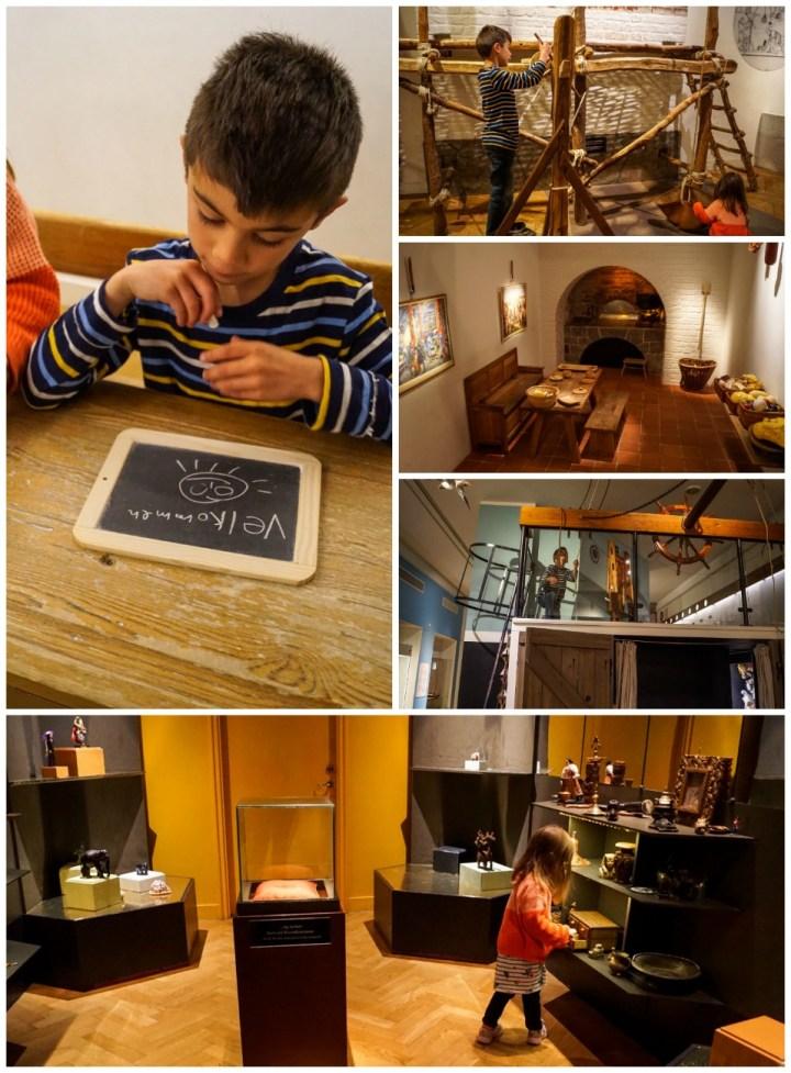 Children play exhibits inside Nationalmuseet