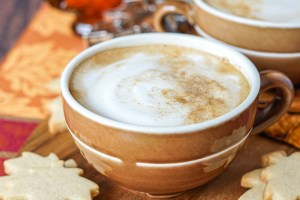 Maple Cinnamon Latte in a mug