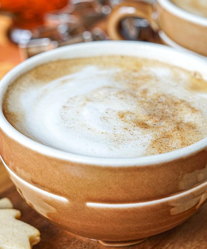 Maple Cinnamon Latte in a mug
