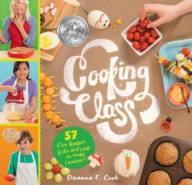 Cookbook cover- Cooking Class: 57 Fun Recipes Kids will Love to Make (and Eat!).