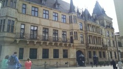 Grand Ducal Palace - streets are so narrow it's difficult to get a good photo!