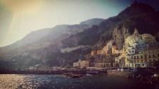 Visiting Amalfi, Italy.