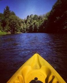 Kayaking the Vltava River