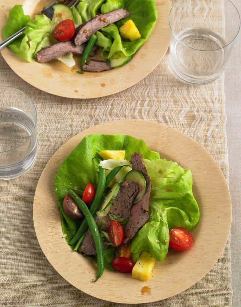 Thai Steak Salad plated