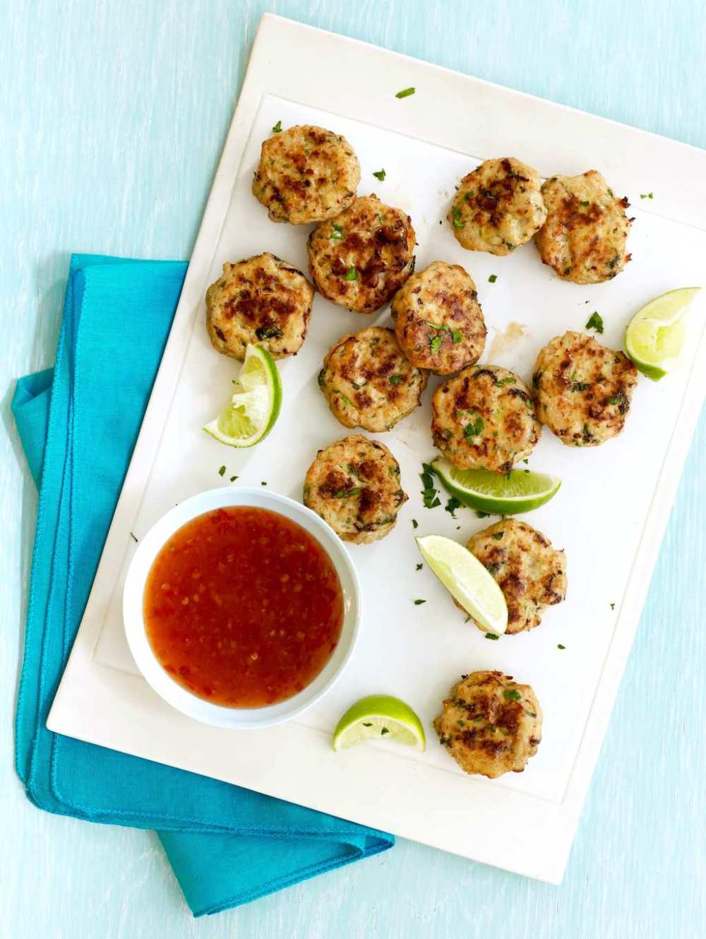 Ginger and a little fish sauce give these tasty chicken bites authentic flavor.