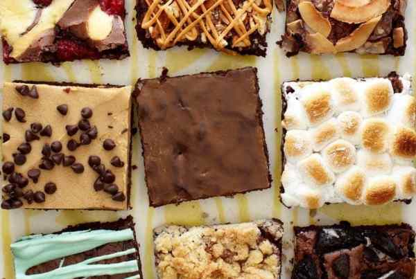 Box brownie variations, brownie mix ideas, Think Outside of the Box Brownies