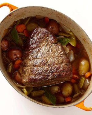 The Best Classic Pot Roast with Vegetables takes your weeknight by storm!
