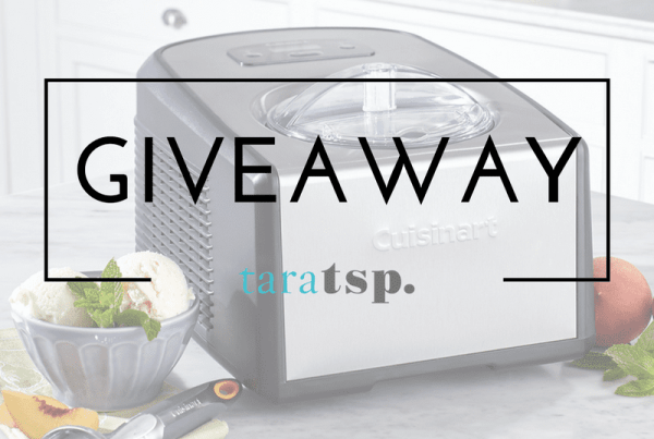 I'm all about ice cream this month. No tribute to this classic treat would be complete without anćice cream maker, so I'm giving one away!