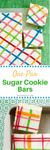 One Pan Sugar Cookie Bars Tara Teaspoon