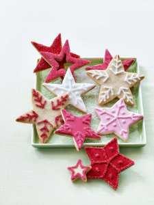 Star cookies by Tara