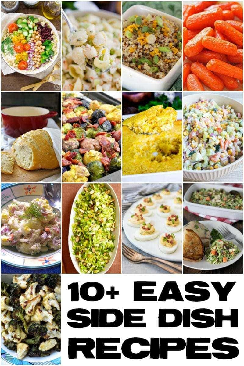 Easy Side Dishes from bloggers