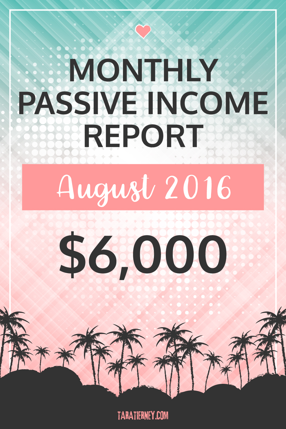 Blogging Income August 2016