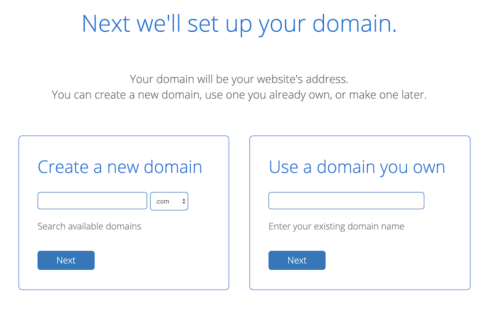 3 - Choose Your Domain Name
