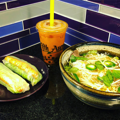 Pho Chin, Boba, Shrimp Rolls | Pho Fifth Avenue