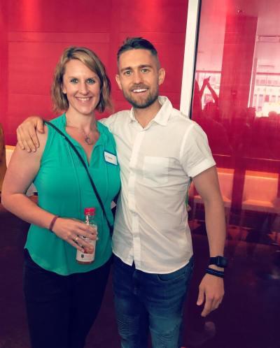 Tara Tierney and Aaron Doughty