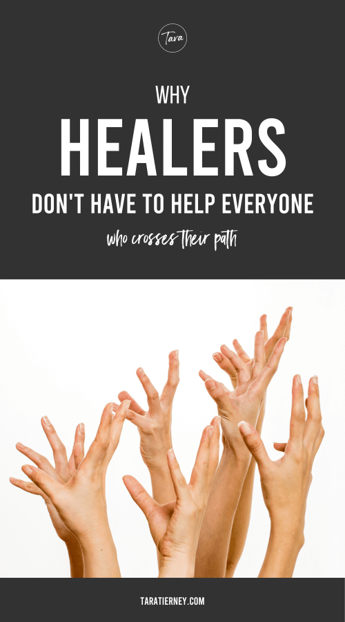 Why Healers Dont Have to Help Everyone