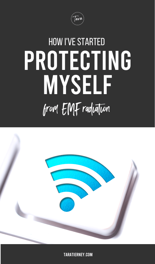 How I've Started Protecting Myself from EMF Radiation