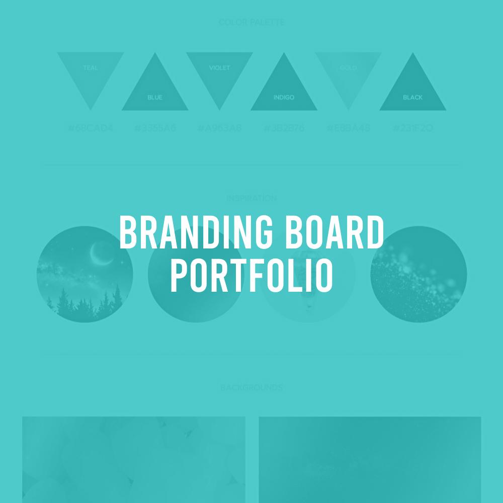 Branding Board Portfolio