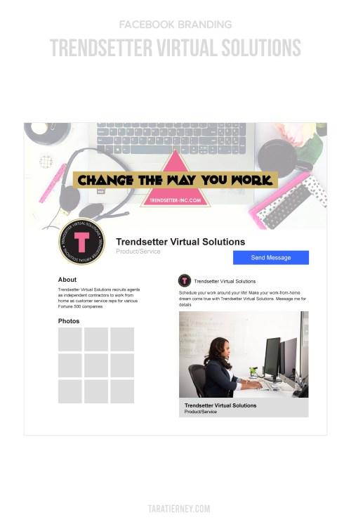Facebook Mockup - Trendsetter Virtual Solutions