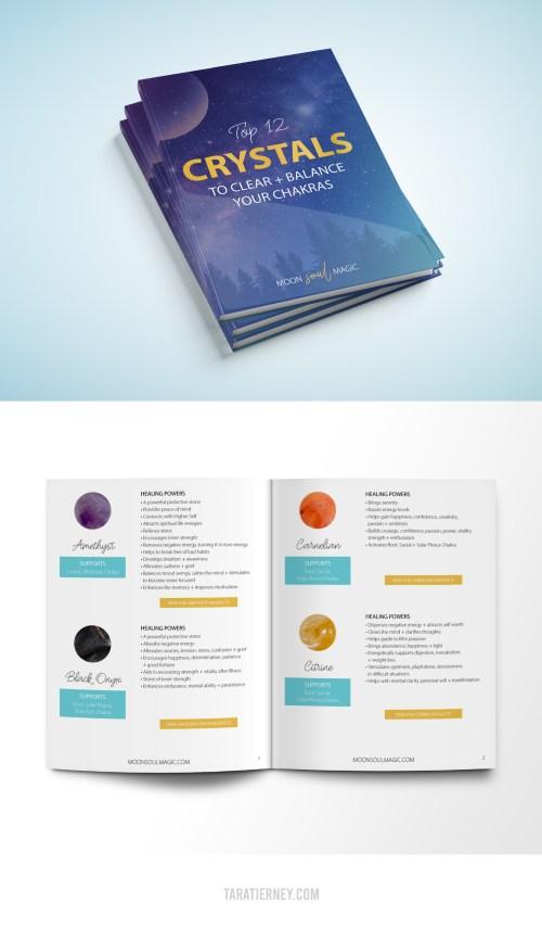 Moon Soul Magic - Top 12 Crystals - eBook Mockup