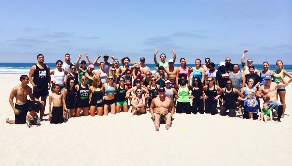 Sunday Funday Herbalife Fit Club at the Beach