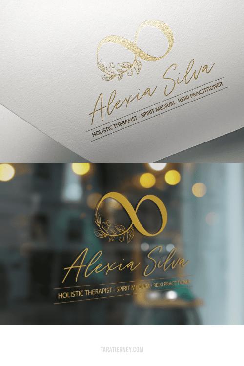 Alexia Silva Logo Mockups