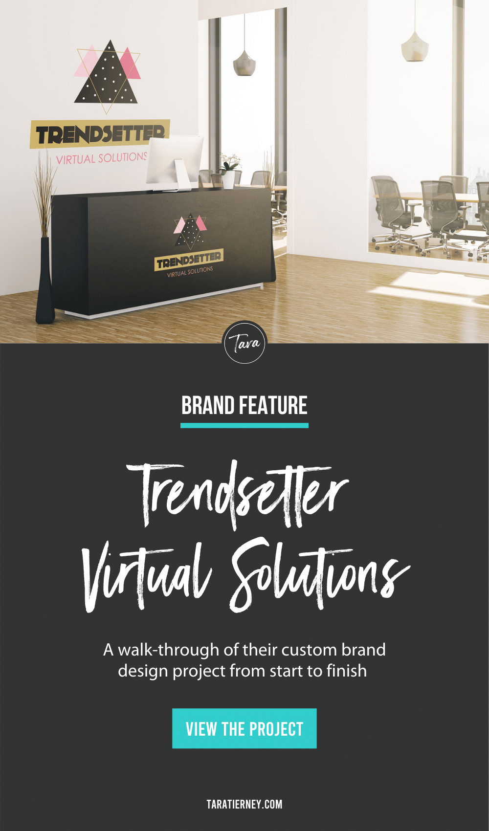 Trendsetter Virtual Solutions Brand Identity Project