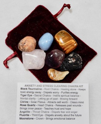 Chakra Kit for Anxiety and Stress Clearing