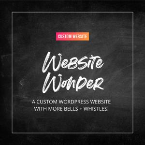 Website Wonder - Custom Website Service