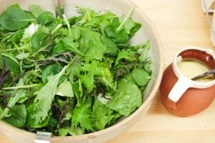 Garden Salad and Vinaigrette