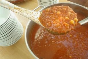 Tunisian Tomato & Chickpea Soup