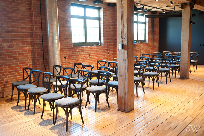 Unique wedding venues in Calgary Charbar captured by Tara Whittaker Photography