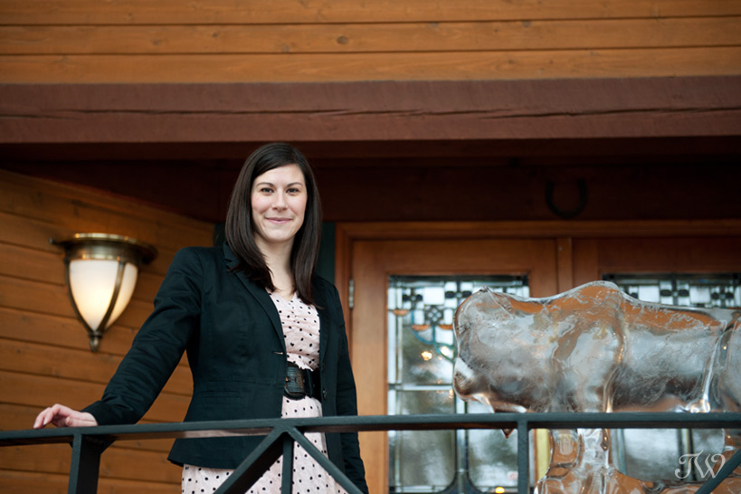 Kerrie Carter Conference Manager at Buffalo Mountain Lodge captured by Tara Whittaker Photography