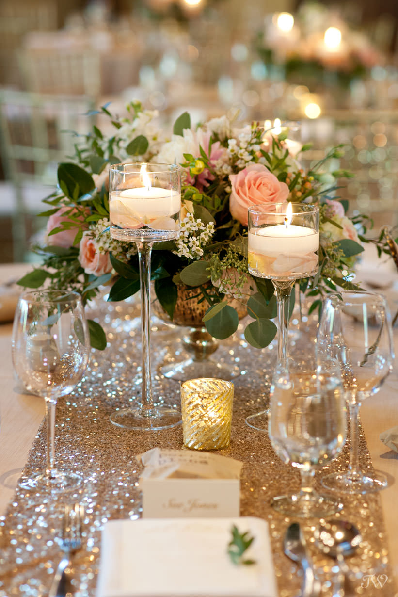 Wedding decor at Silvertip mountain wedding locations captured by Tara Whittaker Photography