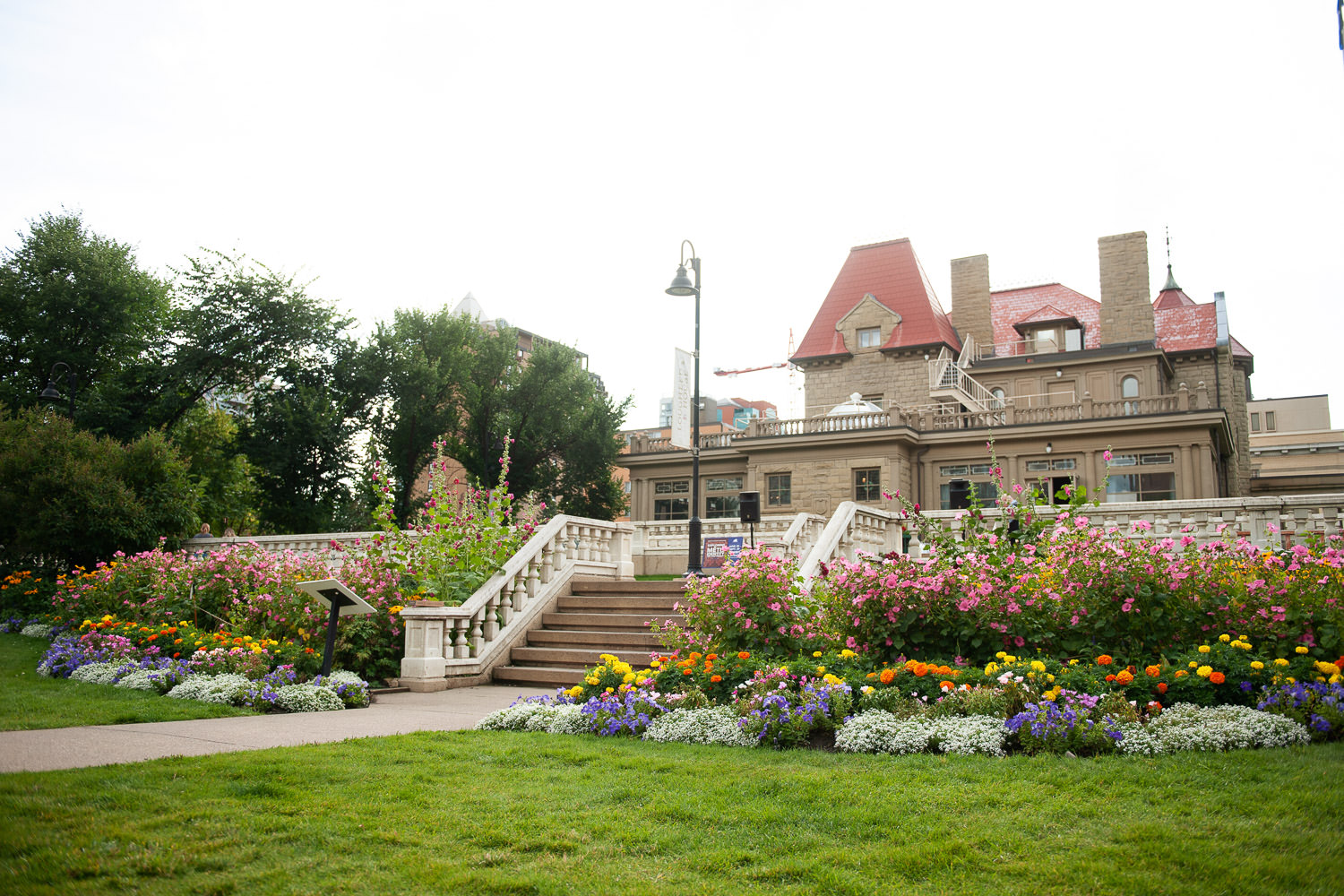gardens of Lougheed House captured by Tara Whittaker Photography