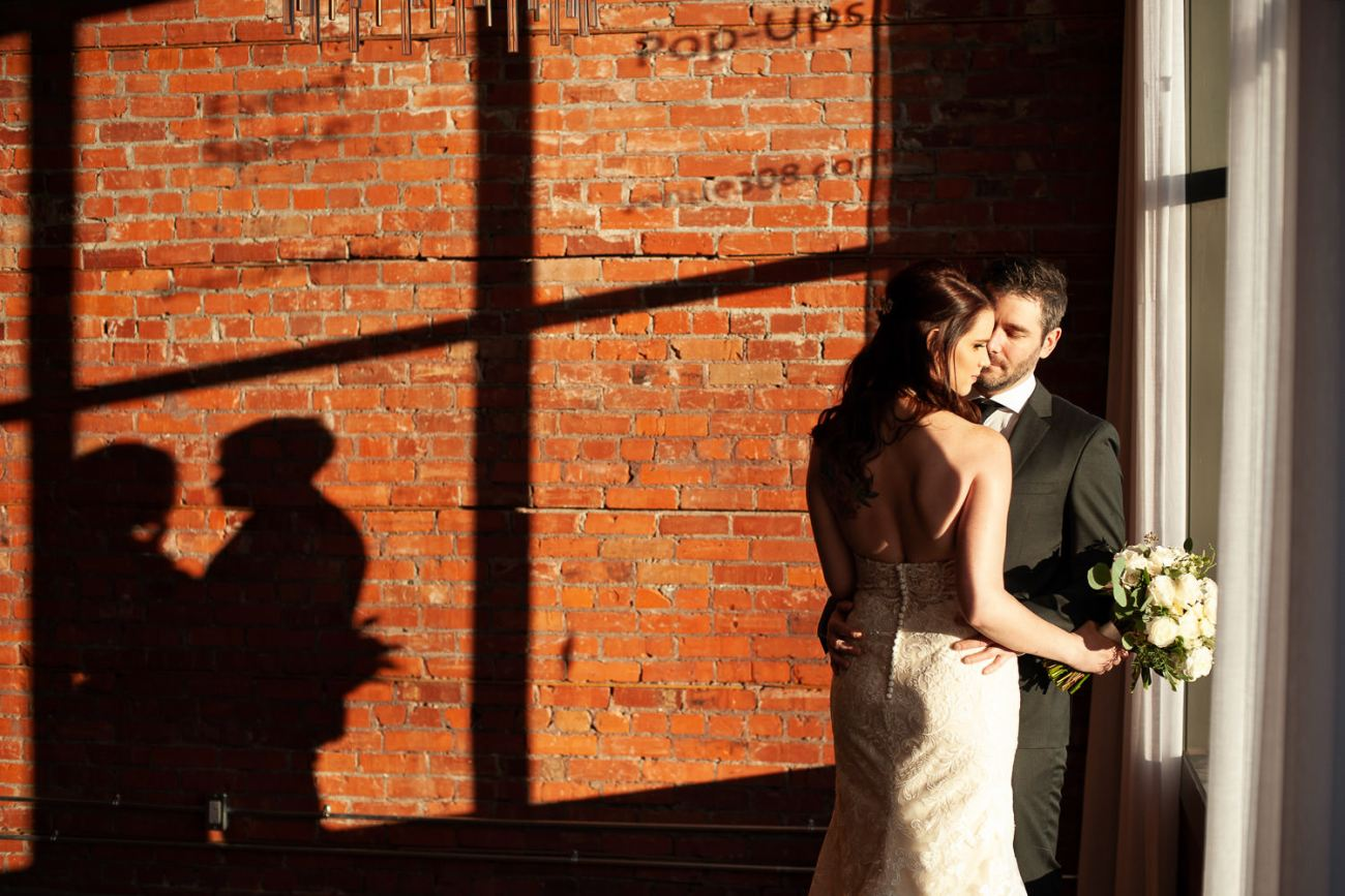 Formal portraits of the bride and groom at Venue 308 captured by Tara Whittaker Photography